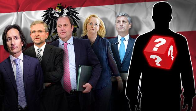 """""""Italienische Verhältnisse"""" im Finanzministerium (Bild: APA/Georg Hochmuth, APA/Roland Schlager, thinkstockphotos.de)"""