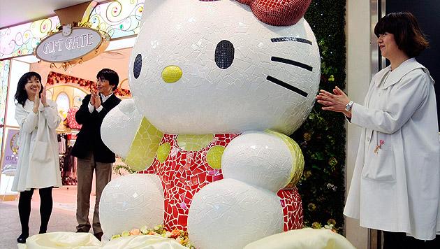 """Fans geschockt: """"Hello Kitty"""" ist gar keine Katze! (Bild: AP)"""