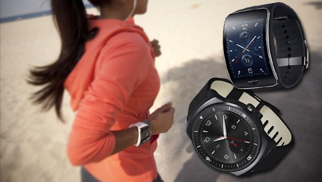 Samsung und LG stellen neue Smartwatches vor (Bild: Samsung, LG)