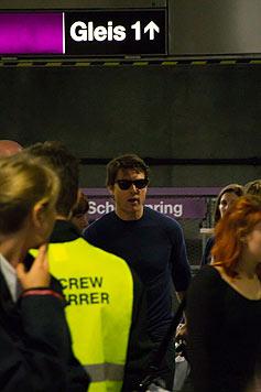Tom Cruise in der U2-Station Schottenring (Bild: krone.at-Leserreporter Zeljko Zivkovic)