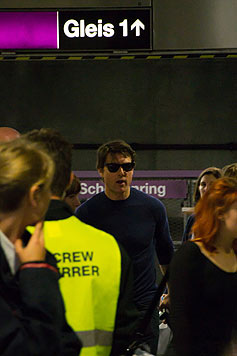 Tom Cruise in der U2-Station Schottenring (Bild: krone.at-Leserreporter Zeljko Zivkovic)