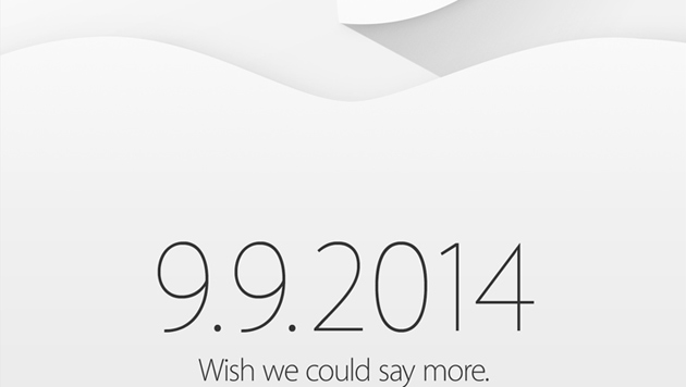 Apple lädt Presse zu Event am 9. September (Bild: Apple)