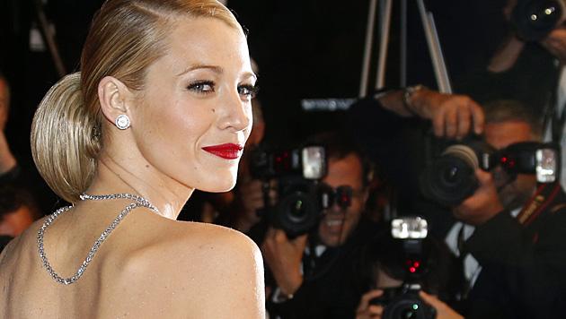 Blake Lively fiel ein bisschen aus dem Rahmen: Sie ist Schauspielerin, kein Model. (Bild: APA/EPA/GUILLAUME HORCAJUELO)