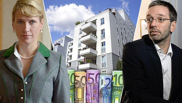 """Grundsteuer-Erhöhung """"trifft alle, die wohnen"""" (Bild: APA/ROLAND SCHLAGER, APA/ROBERT JAEGER, thinkstockphotos.de)"""