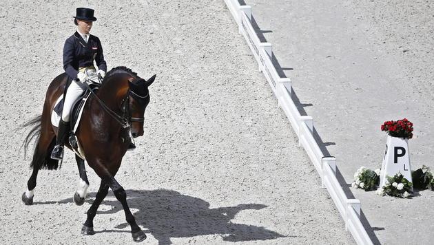 Max-Theurer mit Platz  6 bei Weltreiterspielen (Bild: APA/EPA/Guillaume Horcajuelo)