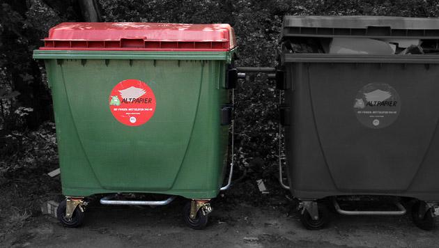 Akten im Müll: USA ermitteln gegen Ex-Diplomaten (Bild: Andi Schiel, krone.at-Grafik)