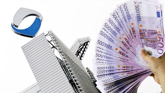 Betr�ger zweigten im Fall Hypo 1,6 Milliarden � ab (Bild: APA/BARBARA GINDL, thinkstockphotos.de, krone.at-Grafik)