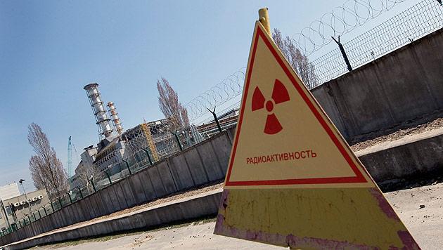 Das AKW Tschernobyl (Bild: SERGEY DOLZHENKO/EPA/picturedesk.com)