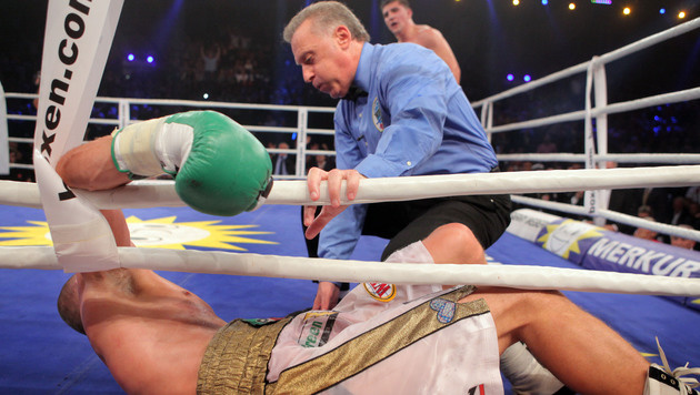 Marco Huck verteidigt WBO-WM-Titel (Bild: AP)