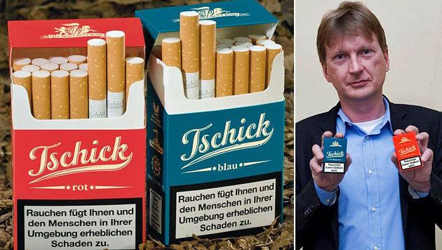 """Reinhard Leitner will mit seinen österreichischen """"Tschick"""" den Tabakmarkt erobern. (Bild: RHT)"""