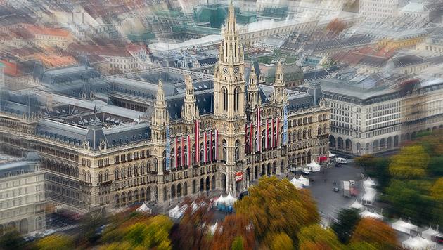 Die Wien-Projekte im Jahr 2015 im Überblick (Bild: APA/HERBERT NEUBAUER)