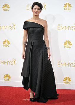 """Abseits des """"Game of Thrones""""-Sets trägt Headey dunkle kurze Haare. (Bild: AP/Richard Shotwell)"""