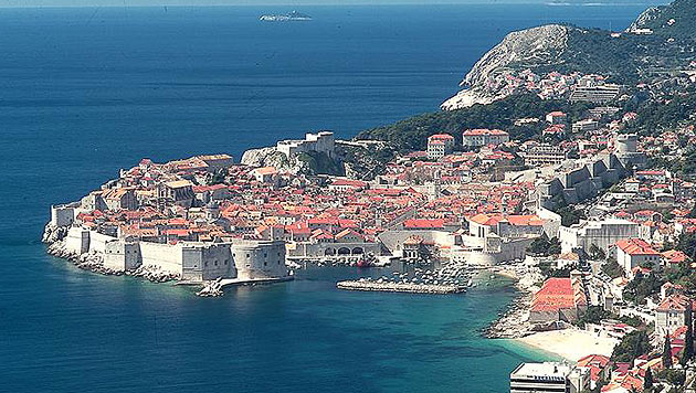 """Die kroatische Küstenstadt Dubrovnik dient als Kulisse von """"Kings Landing"""". (Bild: Kronen Zeitung)"""