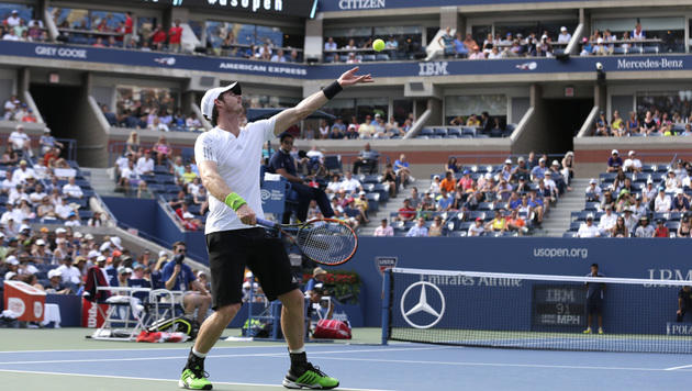 Murray, Djokovic & Serena Williams: Super-Siege! (Bild: AP)