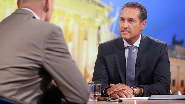 """Strache: """"Umbildung der Regierung ist Verhöhnung"""" (Bild: APA/GEORG HOCHMUTH)"""