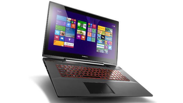 Das Y70 ist ein potenter Riesen-Laptop mit 17,3 Zoll Diagonale. (Bild: Lenovo)