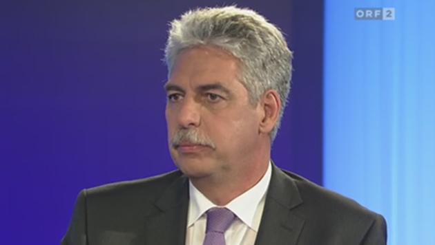 """Schelling: """"Start der Steuerreform völlig offen"""" (Bild: ORF)"""