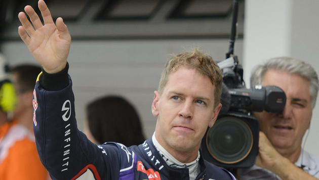 "Vettel nach Test in Sotschi: ""Richtig schnell!"" (Bild: APA/EPA/Zsolt Czegledi)"