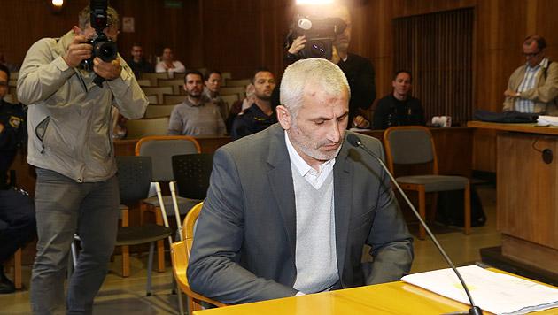Vor Gericht leugnete der Angeklagte den Mord an seiner Lebensgefährtin. (Bild: Jürgen Radspieler)