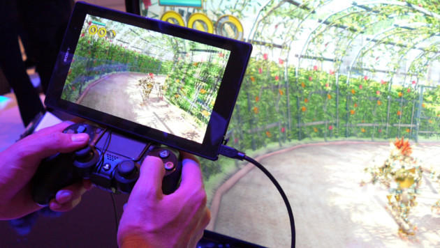 PS4: Spiele-Streaming aufs Xperia Z3 ausprobiert (Bild: Dominik Erlinger)