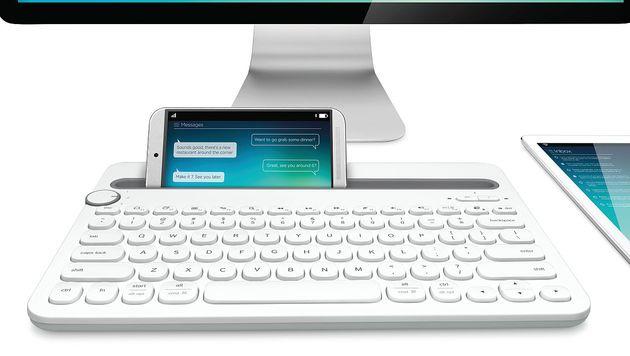 Tastatur für Computer, Smartphone und Tablet (Bild: Logitech)