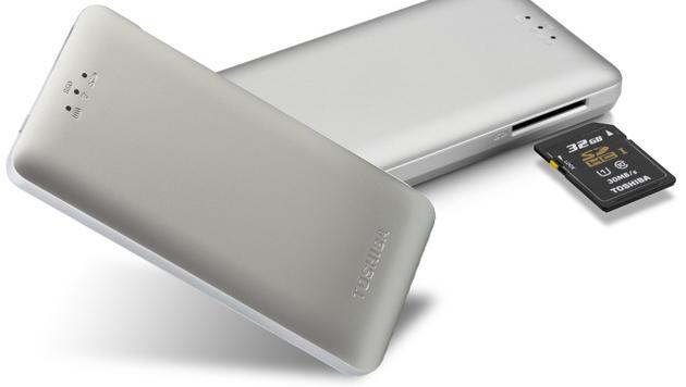 Toshiba Canvio AeroMobile: Externe SSD mit WLAN (Bild: Toshiba)