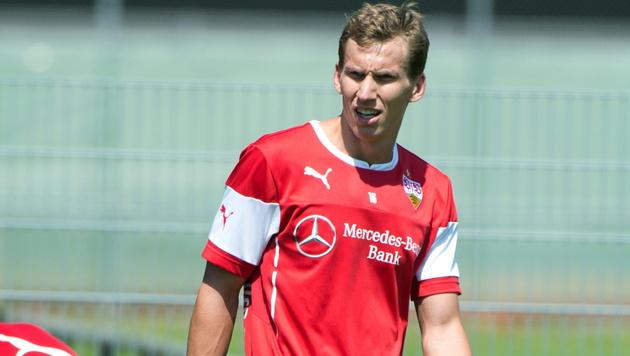 Florian Klein verlässt Stuttgart wohl im Sommer (Bild: APA/EPA/Sebastian Kahnert)