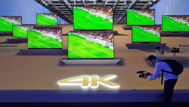 """Panasonic: """"Fernsehen, wie wir es kennen, ist tot"""" (Bild: APA/EPA/JOERG CARSTENSEN)"""
