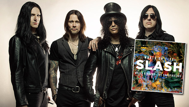 Slash mit brandneuem Album zurück (Bild: Travis Shinn, Warner Music)