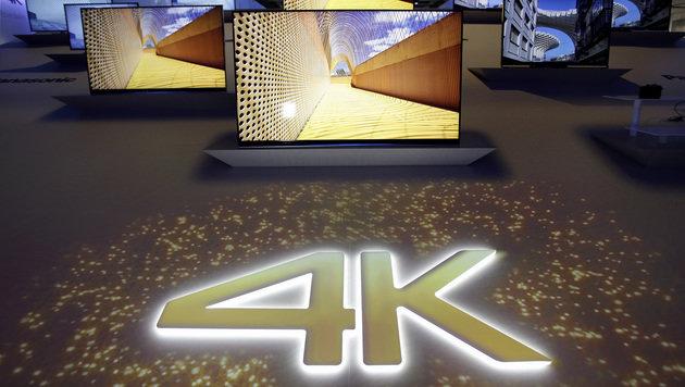 4K-Fernsehen kommt aus den Kinderschuhen (Bild: AP)
