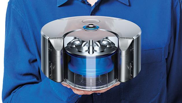 Dyson stellt Robo-Staubsauger mit Rundumkamera vor (Bild: Dyson)