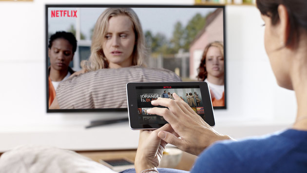 Europäer verbringen mehr Zeit vor dem Fernseher (Bild: Netflix)