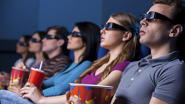 Filme in 3D nicht emotional aufregender als in 2D (Bild: thinkstockphotos.de)