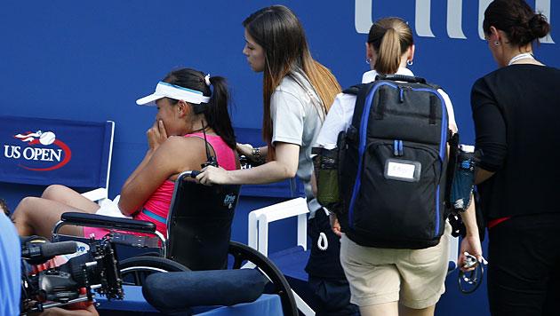 Dänin Wozniacki zum zweiten Mal im US-Open-Finale (Bild: APA/EPA/Andrew Gombert)