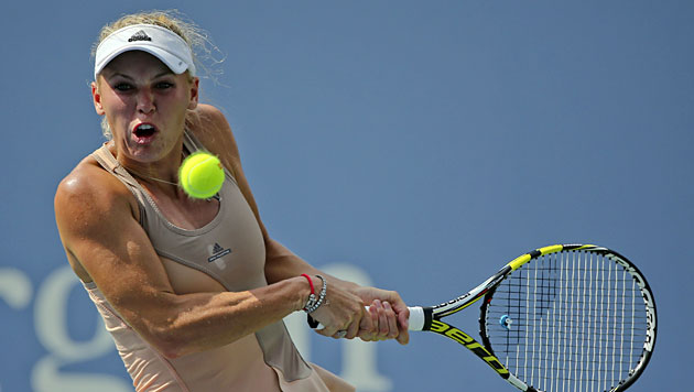 Dänin Wozniacki zum zweiten Mal im US-Open-Finale (Bild: AP)