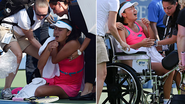 Dänin Wozniacki zum zweiten Mal im US-Open-Finale (Bild: APA/EPA/Daniel Murphy, AP)