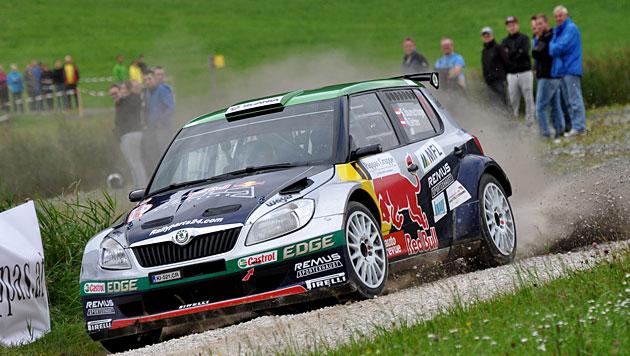 Baumschlager gewinnt Rallye Liezen überlegen (Bild: BRR/Harald Illmer)