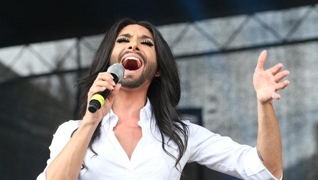 Conchita Wurst in ihrem Element (Bild: Jürgen Radspieler)