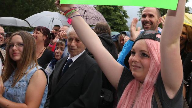 Viele junge Fans kamen, um Conchita zu hören. (Bild: Jürgen Radspieler)