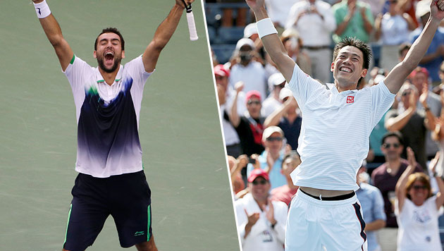 """Sensation bei US Open: Finale der """"Underdogs"""" (Bild: AP)"""
