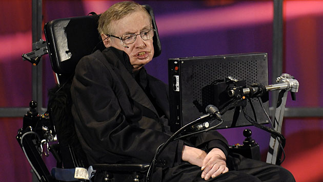 Astrophysiker Stephen Hawking will ins All fliegen (Bild: EPA/Warren Toda/picturedesk.com)