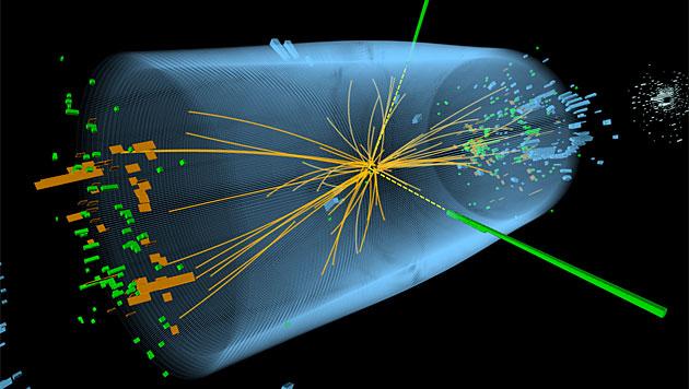 Hinweise auf neues Teilchen am CERN entdeckt? (Bild: CERN/Thomas McCauley, Lucas Taylor)