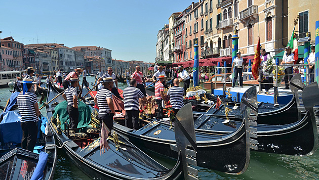 Am 27. September wird in Venedig geheiratet. (Bild: ANDREA MEROLA/EPA/picturedesk.com)