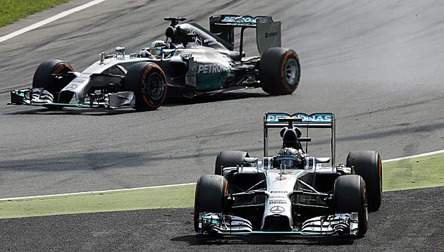 Hamilton-Sieg in Monza ein abgekartetes Spiel? (Bild: AP)
