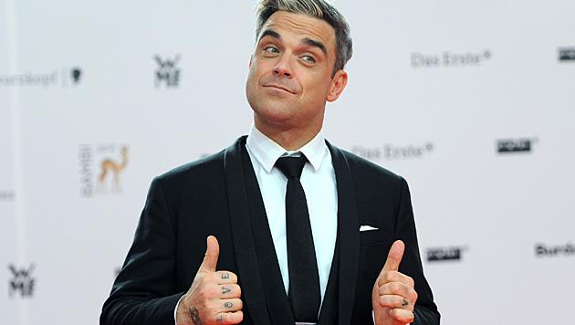 Robbie Williams zweites Kind wird in den USA das Licht der Welt erblicken. (Bild: APA/dpa-Zentralbild/Britta Peder)