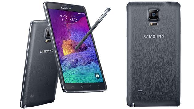 Samsungs Galaxy Note 4 und Note Edge ausprobiert (Bild: Samsung)
