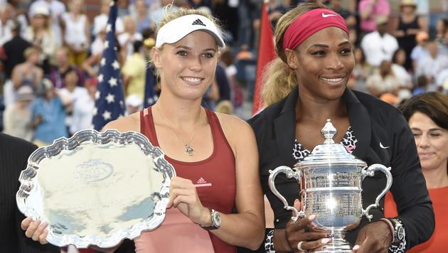 Serena Williams triumphiert bei den US Open (Bild: APA/EPA/JOHN G. MABANGLO)