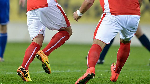 0:4! U17-Team gegen Deutschland chancenlos (Bild: APA/HERBERT NEUBAUER)