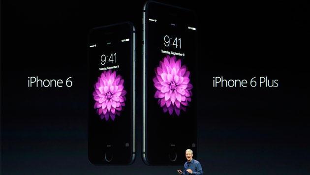 Apple enthüllt zwei neue iPhones und Apple Watch (Bild: AP)