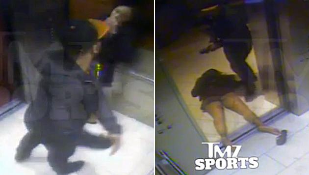 Diese Prügel für Freundin kosten NFL-Ass Job (Bild: AP)
